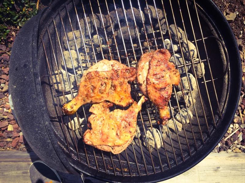 Recette de canard du sud ouest au barbecue par myfoodandtravel.com