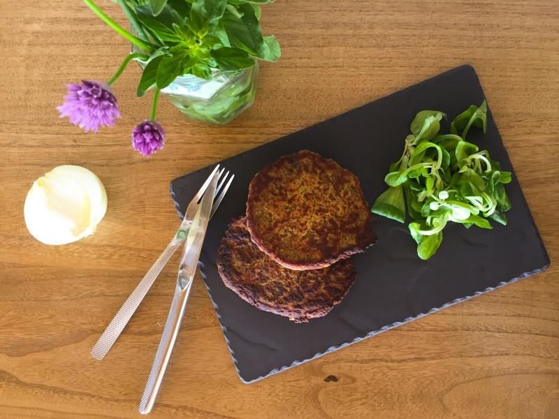 Recette de steak végétarien de haricots rouge de Léonie par myfoodandtravel.com